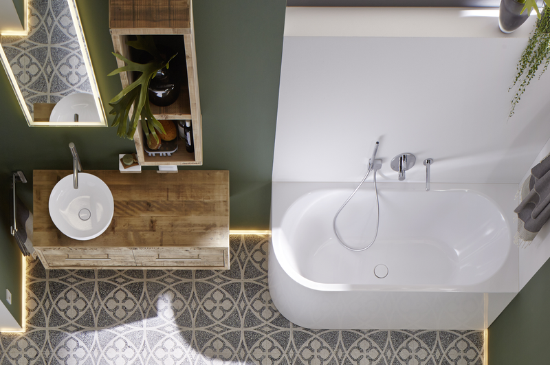 Dream bathroom: Small but perfectly formed.