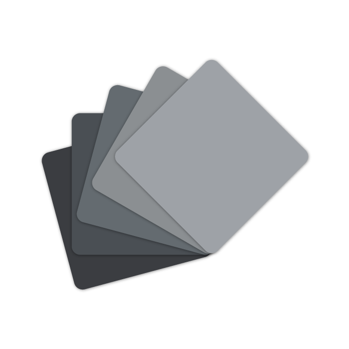 Colour Cards cool grey