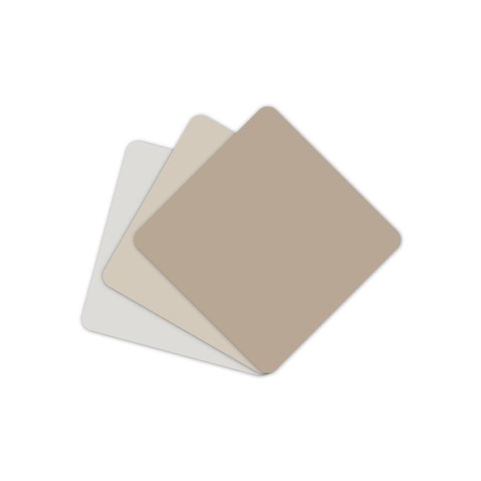 Colour Cards warm beige